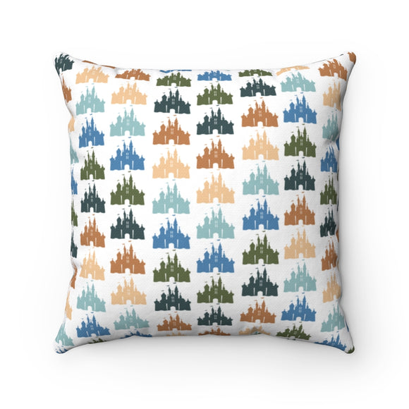 Neutral Castle Pillow