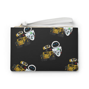 Wall-e and Eve Clutch Bag