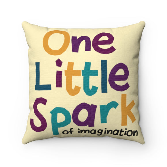 One Little Spark Pillow