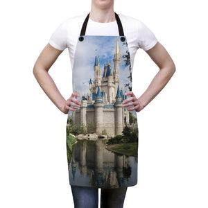 Castle Apron, Disney Apron, Disney Kitchen, Dsney Decor, Gift For Her