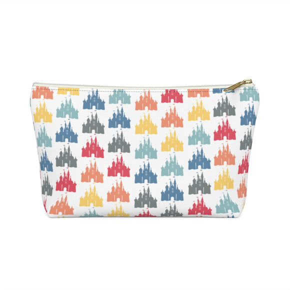 White Rainbow Castle Pouch