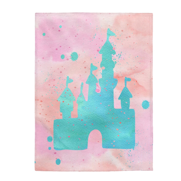 Disney Castle Blanket