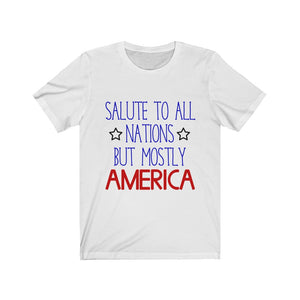 Salute To All Nations Shirt