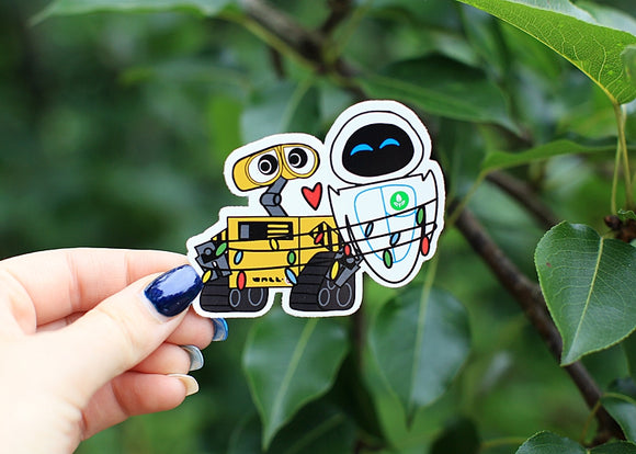 Walle & Eve Sticker*