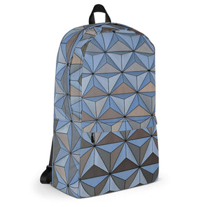 Spaceship Earth at Night Backpack