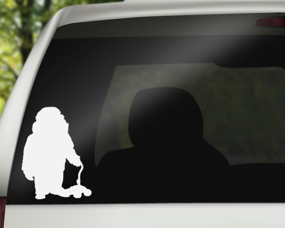 Mr Frederickson Decal