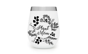 Plant Mom Floral Decal