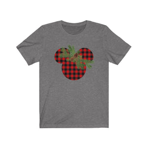 Plaid Mickey Shirt