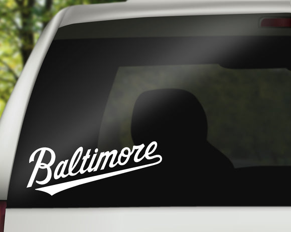 Baltimore Decal