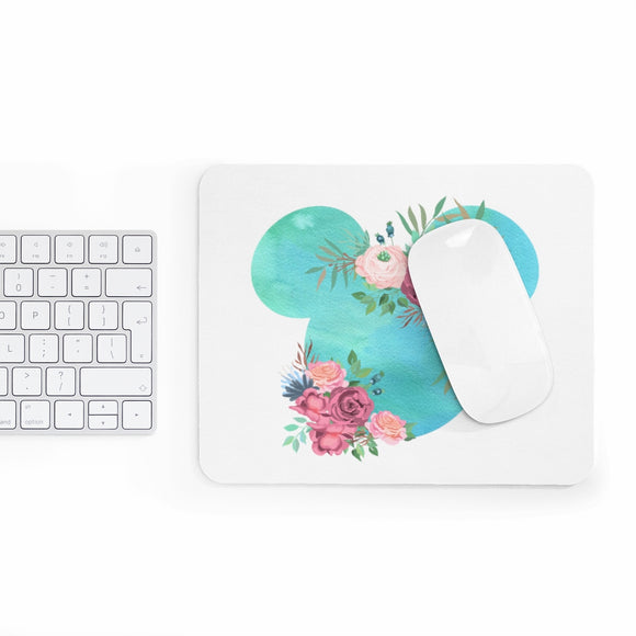 Blue Watercolor Mousepad