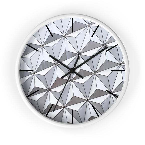Spaceship Earth Wall Clock