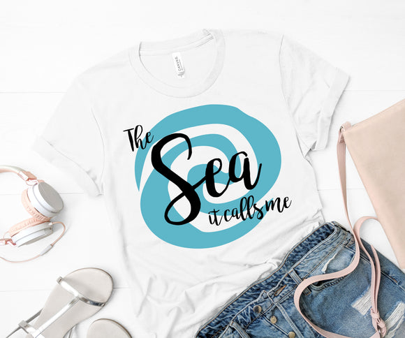 The Sea Calls Me Shirt