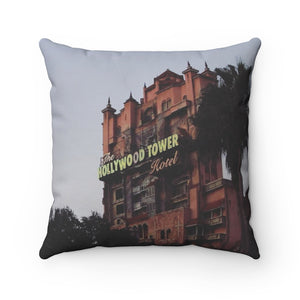 Tower Of Terror Pillow