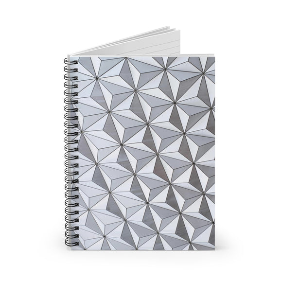 Epcot Spiral Notebook