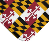 Maryland Flag Bath Mat, Maryland Bathroom Decor, Gift