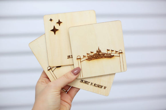 Disney World Coasters