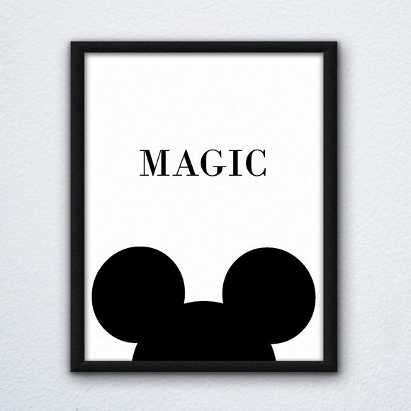Mickey Magic Wall Art