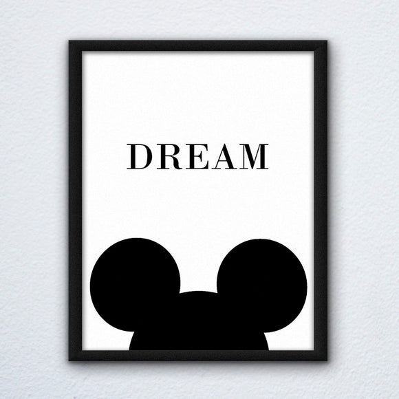 Mickey Dream Wall Art