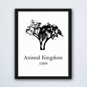 Animal Kingdom Wall Art Print