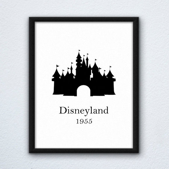 Disneyland Wall Art