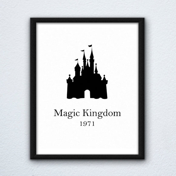 Magic Kingdom Wall Art