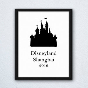 Disneyland Shanghai Wall Art