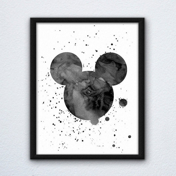 Mickey Painted Wall Art