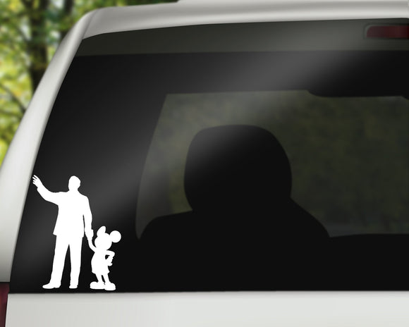 Walt and Mickey Decal