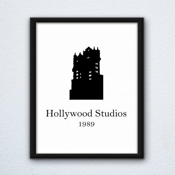 Hollywood Studios Wall Art