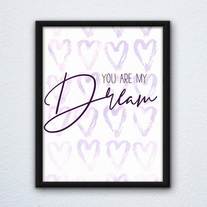 You're My Dream Tangled Print