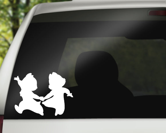 Chip and Dale Decal