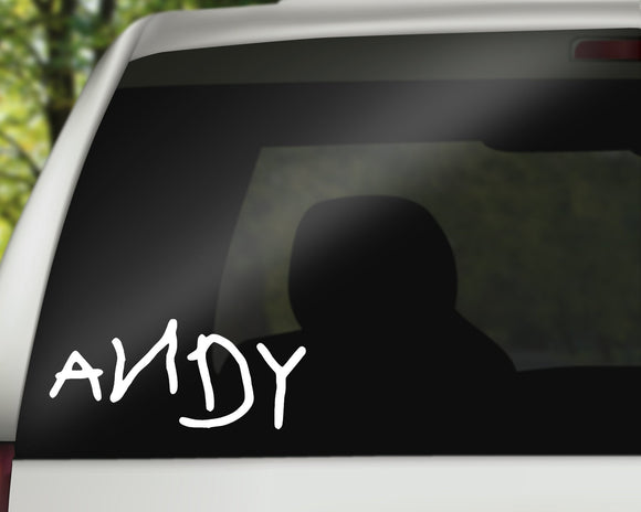 Andy Decal