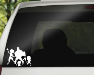 Incredibles Decal