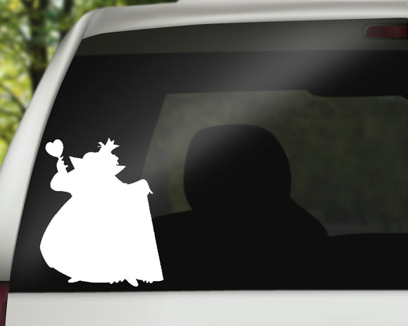Queen Of Hearts Decal