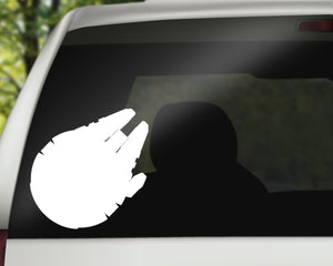 Millennium Falcon Decal