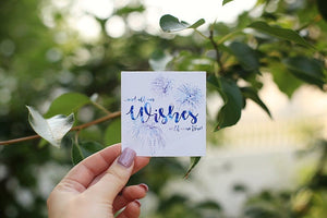 Wishes Sticker