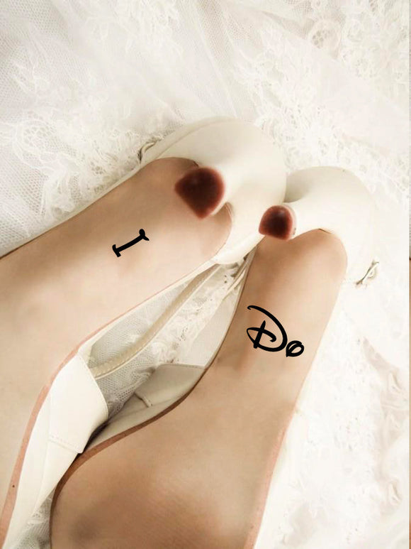 Wedding Shoes Decal