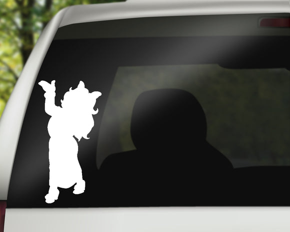 Miss Piggy Decal