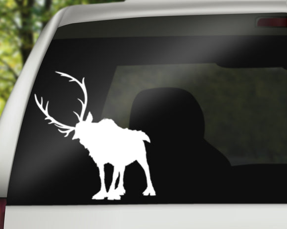 Sven Reindeer Decal