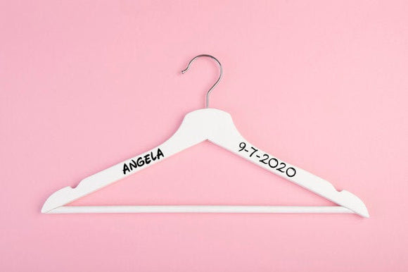 Hanger Name Decal