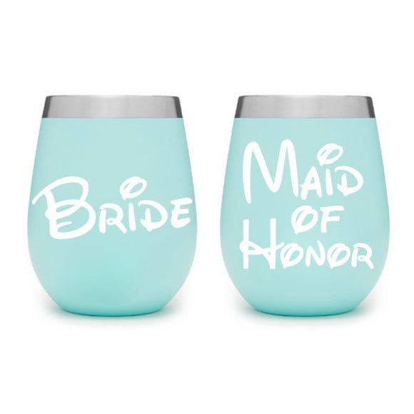 Wine Tumbler Decals