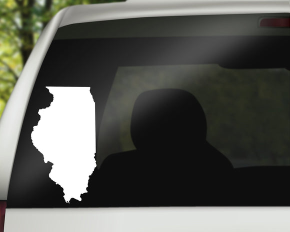 Illinois State Decal