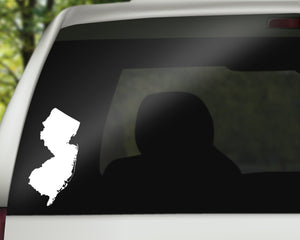 New Jersey State Decal
