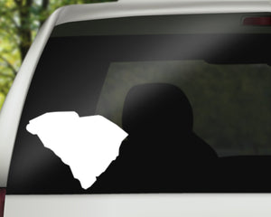South Carolina State Decal
