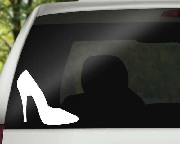 Glass Slipper Decal