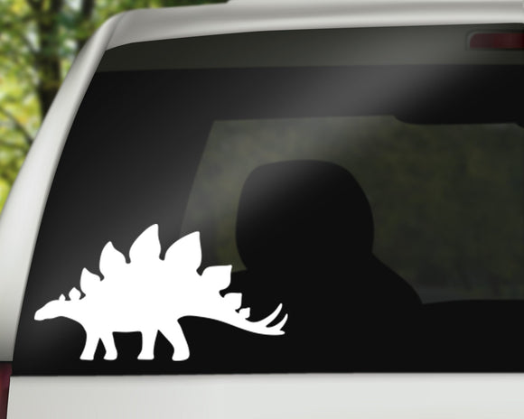 Stegosaurus Decal