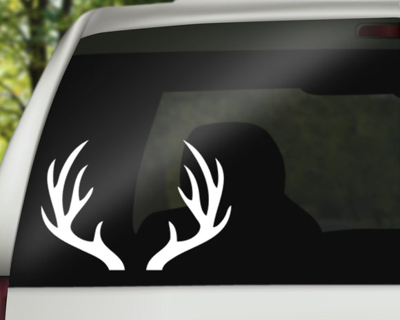 Antlers Decal
