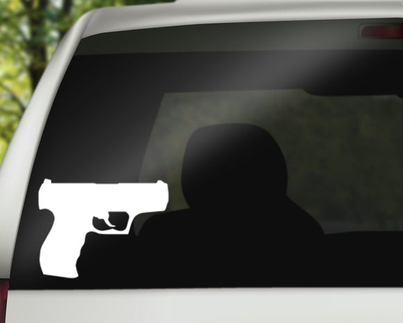 Handgun Decal