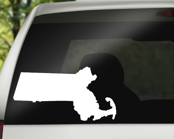 Massachusetts State Decal