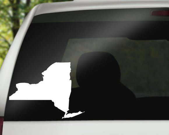 New York State Decal
